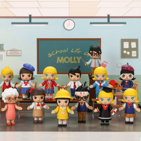 COLLECTION COMPLETE FIGURINE MOLLY SCHOOL