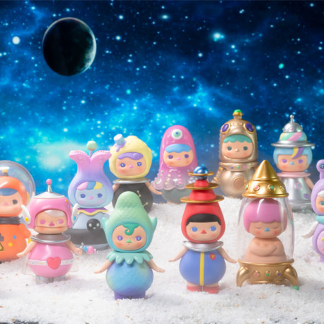 Pucky Space Babies 12pcs (collection complète)