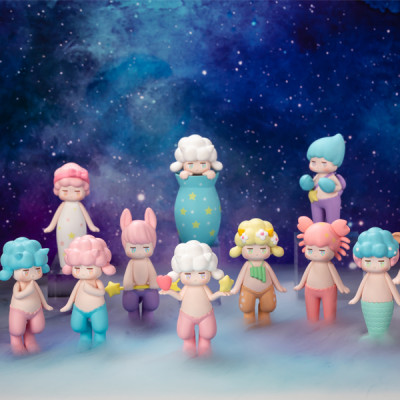 SATYR RORY ZODIAC 12pcs (collection complète)