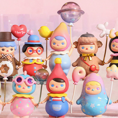 Pucky Balloon 12pcs (collection complète)