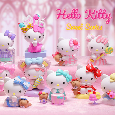HELLO KITTY Sweet 12pcs (collection complète)