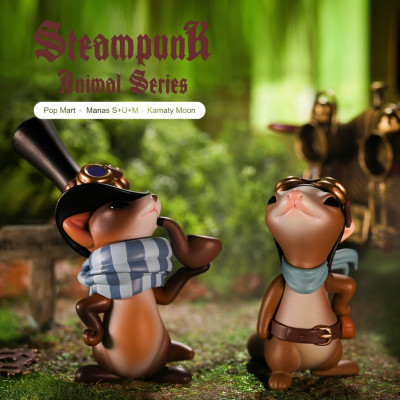 STEAMPUNK ANIMALS (1pcs aléatoire)