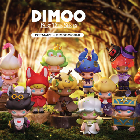 DIMOO FAIRY TALES 12pcs (collection complète)