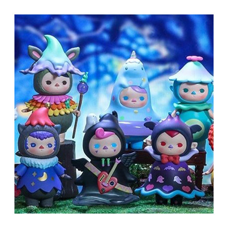Pucky Monster Babies 12pcs (collection complète)